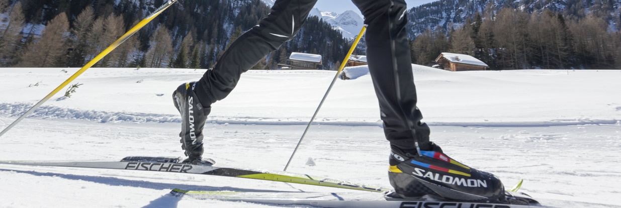 Cross – country skiing in Vinschgau